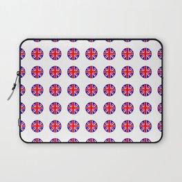 Flag of UK 15- London,united kingdom,england,english,british,great britain,Glasgow,scotland,wales Laptop Sleeve