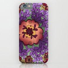 Pomegranate Poppies iPhone 6s Slim Case