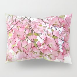 pink dogwoods Pillow Sham