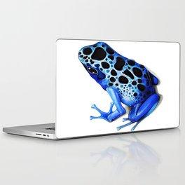 Blue Poison Frog Laptop & iPad Skin