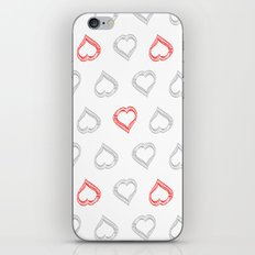 Hearts II iPhone & iPod Skin