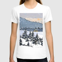 Winter Montains T-shirt