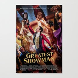 The Greatest Show Magic Canvas Print