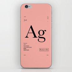 Baskerville iPhone Skin