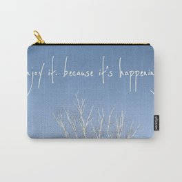 perks of being a wallflower - life is happening Carry-All Pouch