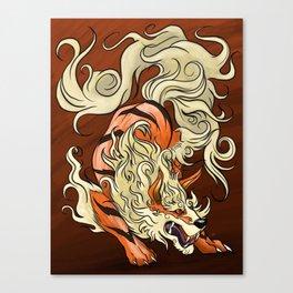 Arcanine Canvas Print