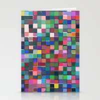 stained glass Stationery Cards featuring stained glass by spinL