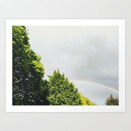 Rainbow Tree Art Print