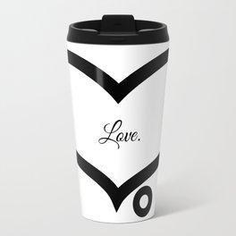 Love. (White) Travel Mug