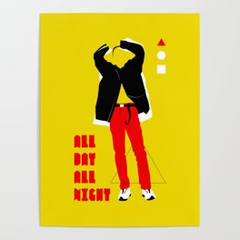SHINee - All Day All Night Poster