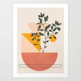 Geometric Modern Art 43 Art Print