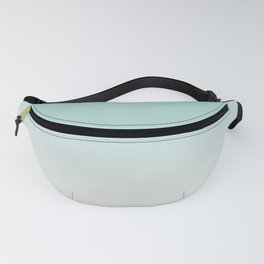 Ombre Duchess Teal and White Smoke Fanny Pack