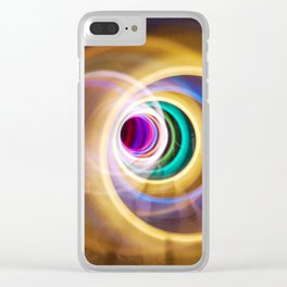 Twisted Light Clear iPhone Case