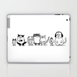 3 CRAZYSSS AND FRIENDS Laptop & iPad Skin