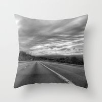 maryland Throw Pillows featuring Maryland by Geni