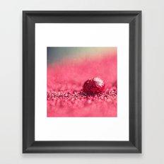 Red Drop Framed Art Print