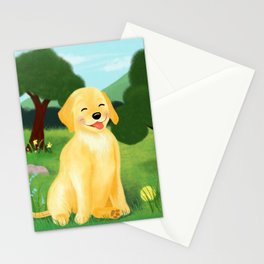 A Golden Day Stationery Cards