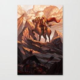 The Righteous Dawn Canvas Print