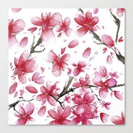 Cherry Blossoms #society6 #buyart Canvas Print