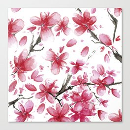 Cherry Blossoms #society6 #buyart Canvas Print