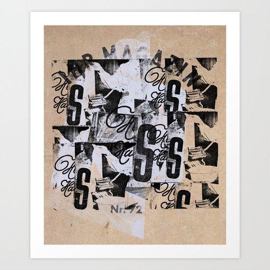 MONDO DIFFICILE Art Print