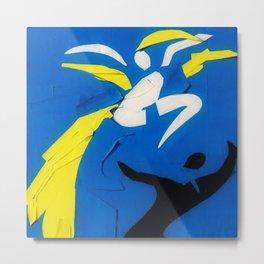 Rare Henri Matisse - Two Dancers Cut-Out Series portrait painting Metal Print