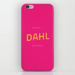 Dahl Playfield iPhone Skin