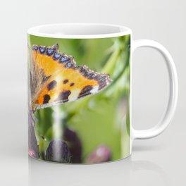 Little Tortoiseshell Buterfly Coffee Mug