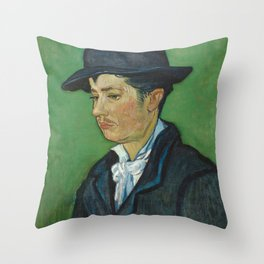 Portrait of Armand Roulin by Vincent van Gogh Throw Pillow