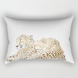 Sleeping cheetahs Rectangular Pillow