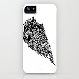 Bless of the godess iPhone Case