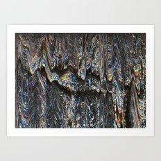 Fish Scales Art Print