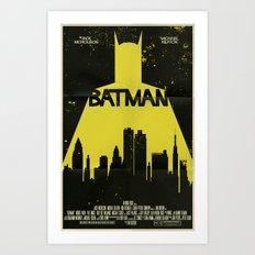Bat Man  Art Print
