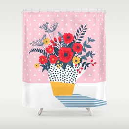 Morning still life Shower Curtain