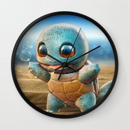 Realistic Squirtle Wall Clock
