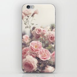Cotton Candy Roses iPhone Skin