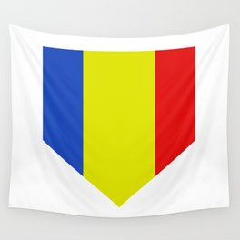 romania flag Wall Tapestry