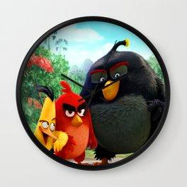 Chilly Birds Wall Clock