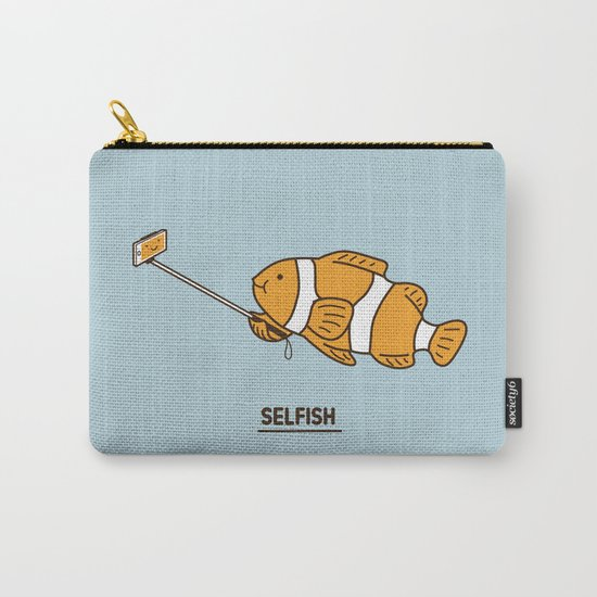 Selfish Carry-All Pouch