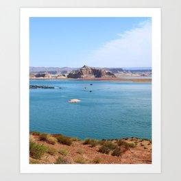 Lake Powell Impression Art Print