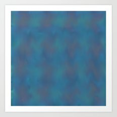Soft Blue Art Print