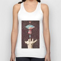 constellations Tank Tops featuring Constellations  by Laura Carpenter