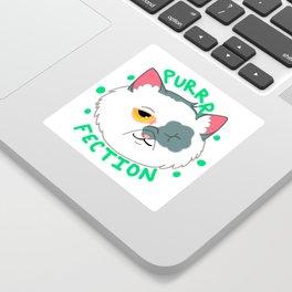 Purrrfection Sticker