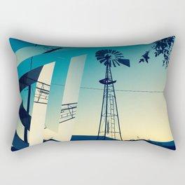 Sunset Farm Rectangular Pillow