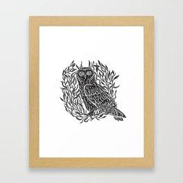 Magic Owl no1 Framed Art Print