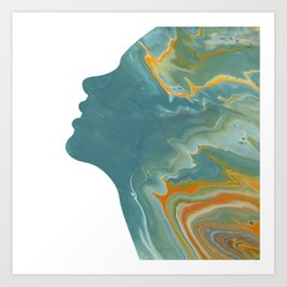 Talia Art Print