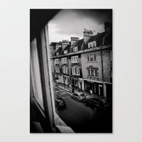 bath Canvas Prints featuring Bath  by Melissa Batchelder Photography