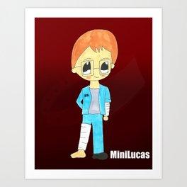 MiniLucas Art Print