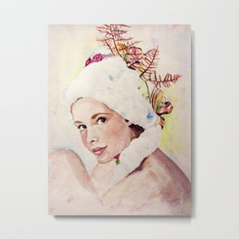 a pretty face Metal Print