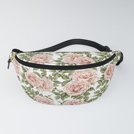 Graceful Garden Roses Fanny Pack